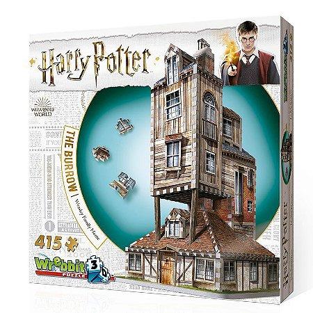 Harry Potter 3D: A Toca - A Casa da Familia Weasley