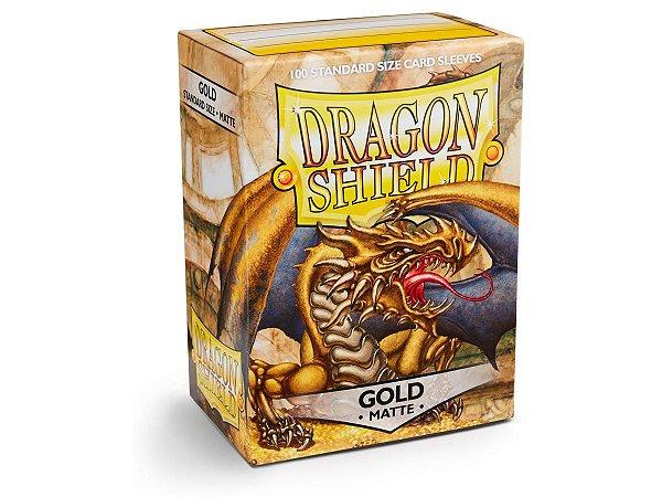 Dragon Shield - Gold Matte