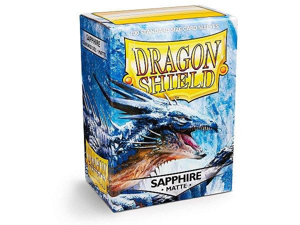 Dragon Shield - Sapphire Matte