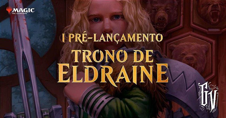 INSCRIÇÃO DIA 27/09 - PRÉ RELEASE TRONO DE ELDRAINE
