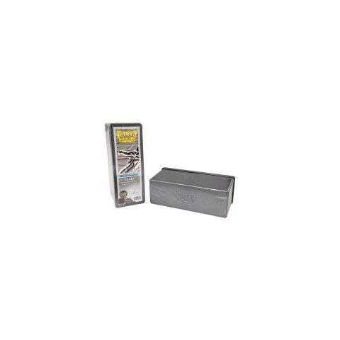 Dragon Shield Four Compartment Box - Silver