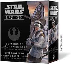 STAR WARS LEGION - OPERADORES DE CANHAO LASER