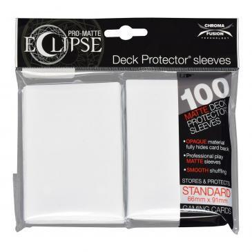 Ultra Pro Eclipse Pro-Matte - Branco