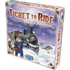 Ticket to Ride -  Paises Nórdicos
