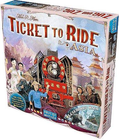 Expansão Ticket to Ride - Asia
