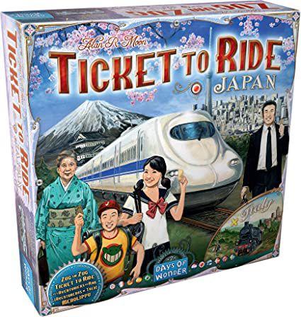 Expansão Ticket to Ride - Japão e Itália