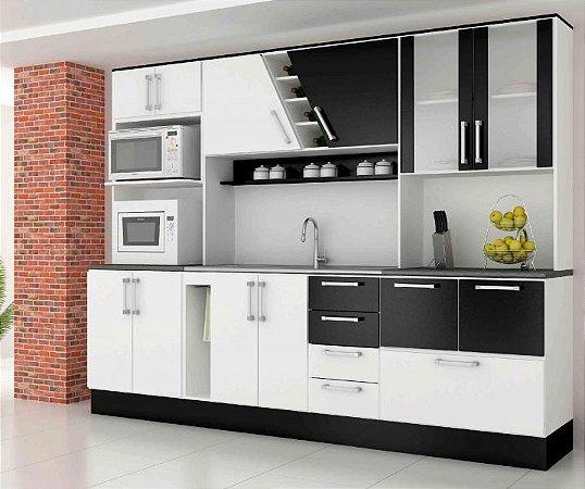 37b9a17e81 Cozinha Kit Paris Comelli - Versátil Móveis e Eletro