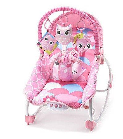 Cadeira cadeirinha de descanso musical e balanço weego