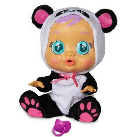Boneca Crybabies Panda Lagrima De Verdade Multikids Baby