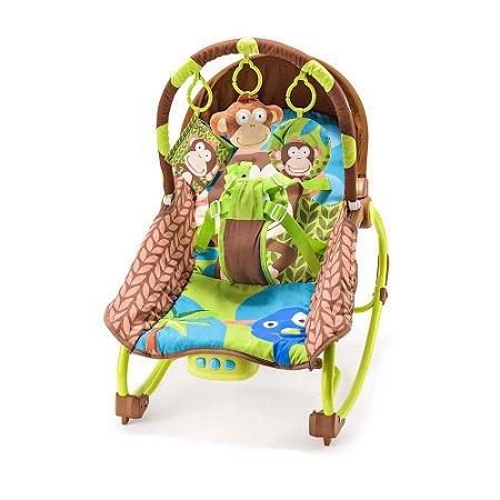 Cadeira de descanso musical cadeirinha de bebê com vibração