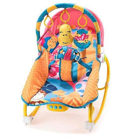 Cadeira de descanso com balanço musica e vibração multikids