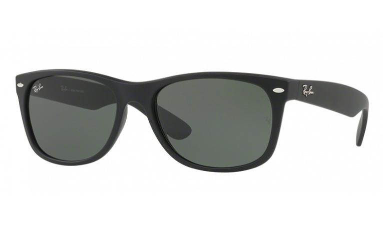 Óculos Ray-Ban - 0RB2132LL New WayFarer - Black Rubber 622/58