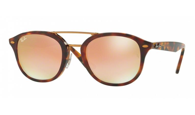 Óculos Ray-Ban - 0RB2183 HighStreet - Top Havana Brown/Yellow Brown 1127B9/53