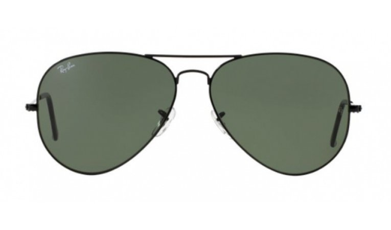 Óculos Ray-Ban - 0RB3026L Aviator Large Metal II - Black L2821/62