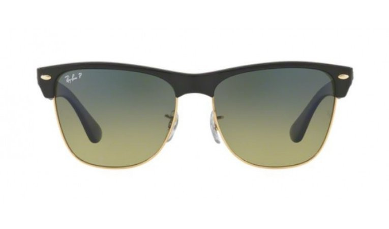 Óculos Ray-Ban - 0RB4175 ClubMaster Oversized - Demigloss Black 877/76/57