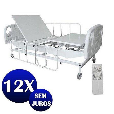 c441f84e3 Cama Hospitalar Motorizada Com Elevação do Leito Semi Luxo 3 Mov ...