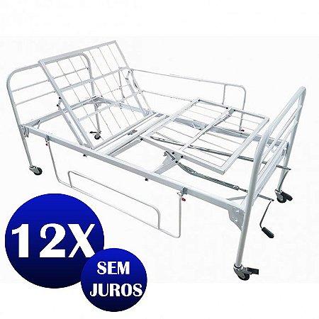 eb43d26dd2 Cama Fawler 2 movimentos Manual (ESTRADO EM TELA) - Cama Hospitalar ...