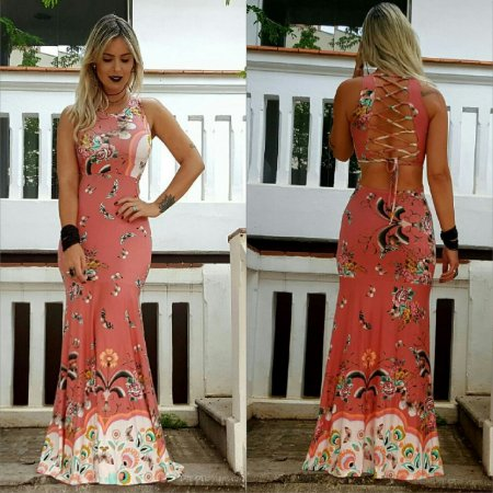 Vestido longo super elegante
