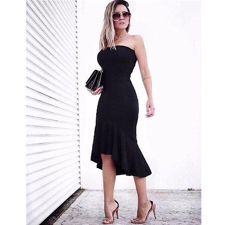 Vestido midi deusa black