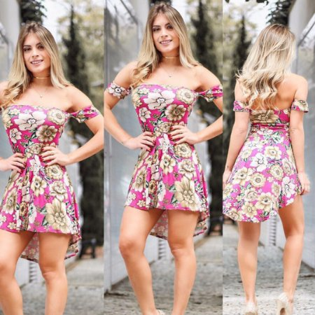Conjunto mullet short mais blusa pink