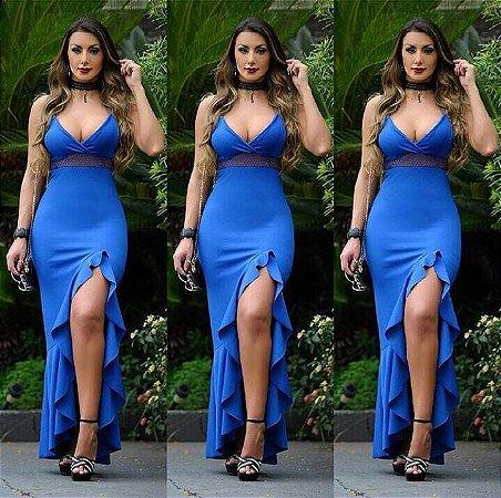 Vestido blue maravilhoso