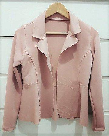 Blazer maravilhoso na cor rosê (rosa antigo)