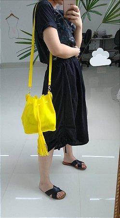 Bolsa saquinho de plástico - Amarela