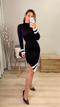 Vestido em tricot - Júlia