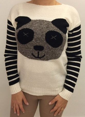 Tricot urso Ted off white