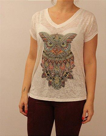 Tshirt Coruja color