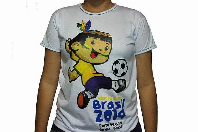 Camiseta Cainã Grande - Branca
