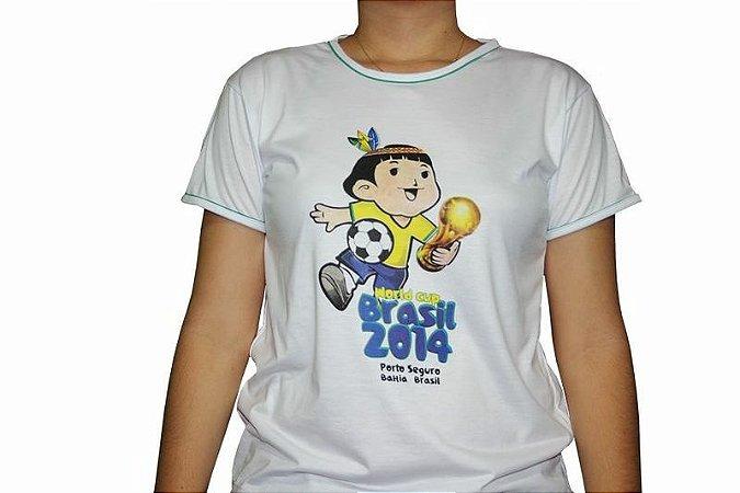Camiseta Cainã na Copa - Branca
