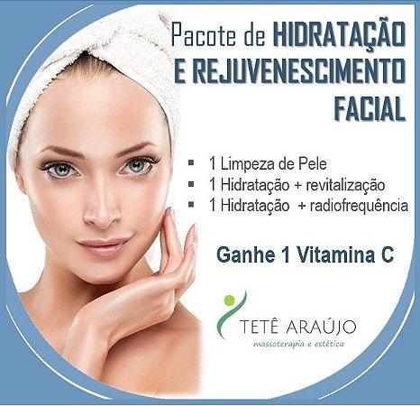 Tratamento de Hidratação e Rejuvenescimento Facial
