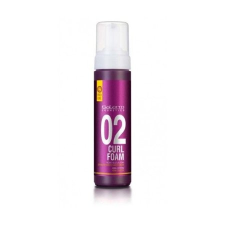 SALERM COSMETICS CURL FOAM 200ml (MOUSSE PARA ONDULAR)