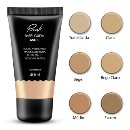 RICOSTI BASE MATTE BEGE 40ML