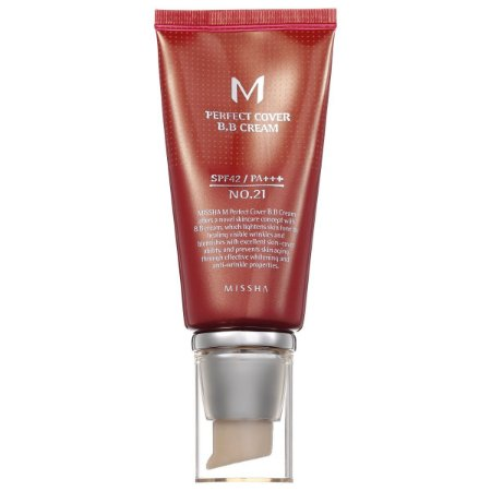 MISSHA PERFECT COVER BB CREAM COR 21  SPF 42 - 10ML