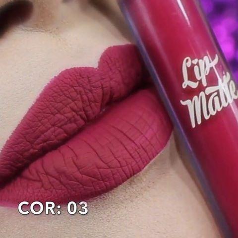Lip Matte Latika Batom Líquido Cor 03