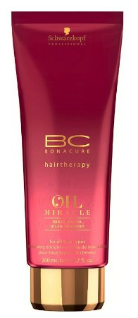 SCHWARZKOPF OIL MIRACLE BRAZILNUT OIL SHAMPOO 200ML