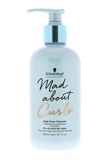 SCHWARZKOPF MAD ABOUT CURLS HIGH FOAM CLEANSER 300ML (EXTRA ESPUMA)