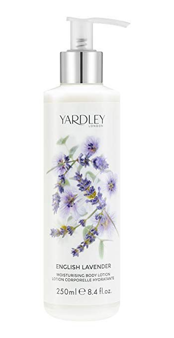 YARDLEY LONDON ENGLISH LAVENDER MOISTURISING BODY LOTION 250ML