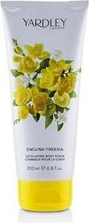 YARDLEY LONDON ENGLISH FREESIA EXFOLIATING BODY SCRUB 200ML