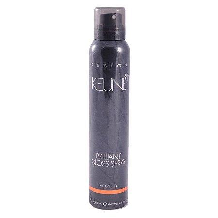 Keune Brilliant Gloss - Spray de Brilho 200ml