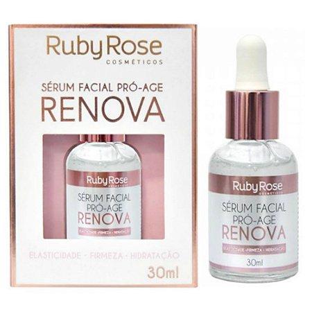 Ruby Rose Sérum Facial Pró-Age Renova - 30ml