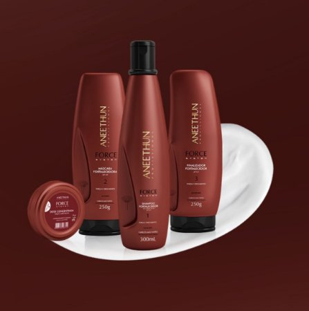 Kit Tratamento Completo Aneethun Force System Home Care
