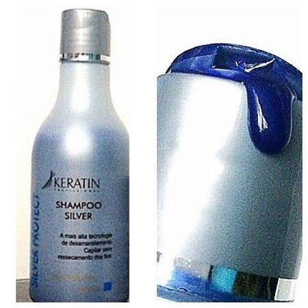 Shampoo Silver Keratin