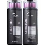 KIT SHAMPOO 300ML E CONDICIONADOR 300ML STRUCTURE