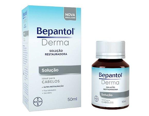 BEPANTOL DERMA SOLUÇÃO IDEAL PARA CABELOS 50ML