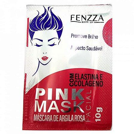 FENZZA MÁSCARA DE ARGILA ROSA FACE 10G