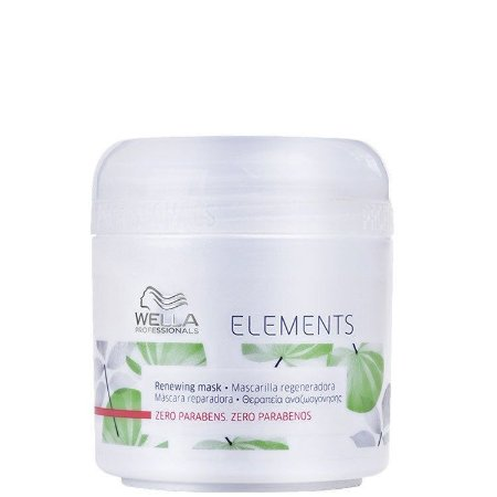 MÁSCARA REPARADORA WELLA ELEMENTS ZERO PARBENO 150ML