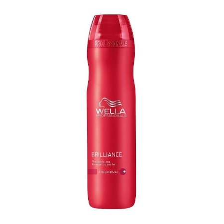 WELLA BRILLIANCE SHAMPOO PARA CABELOS COLORIDOS 250ML